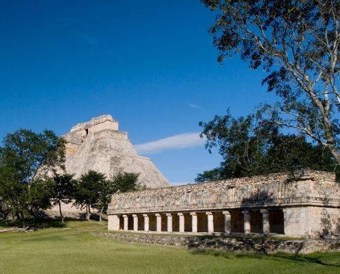 Uxmal Yucatan, Mexico