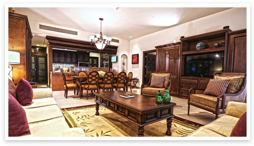 Presidential four-bedroom Penthouse Suite at Grand Residences
