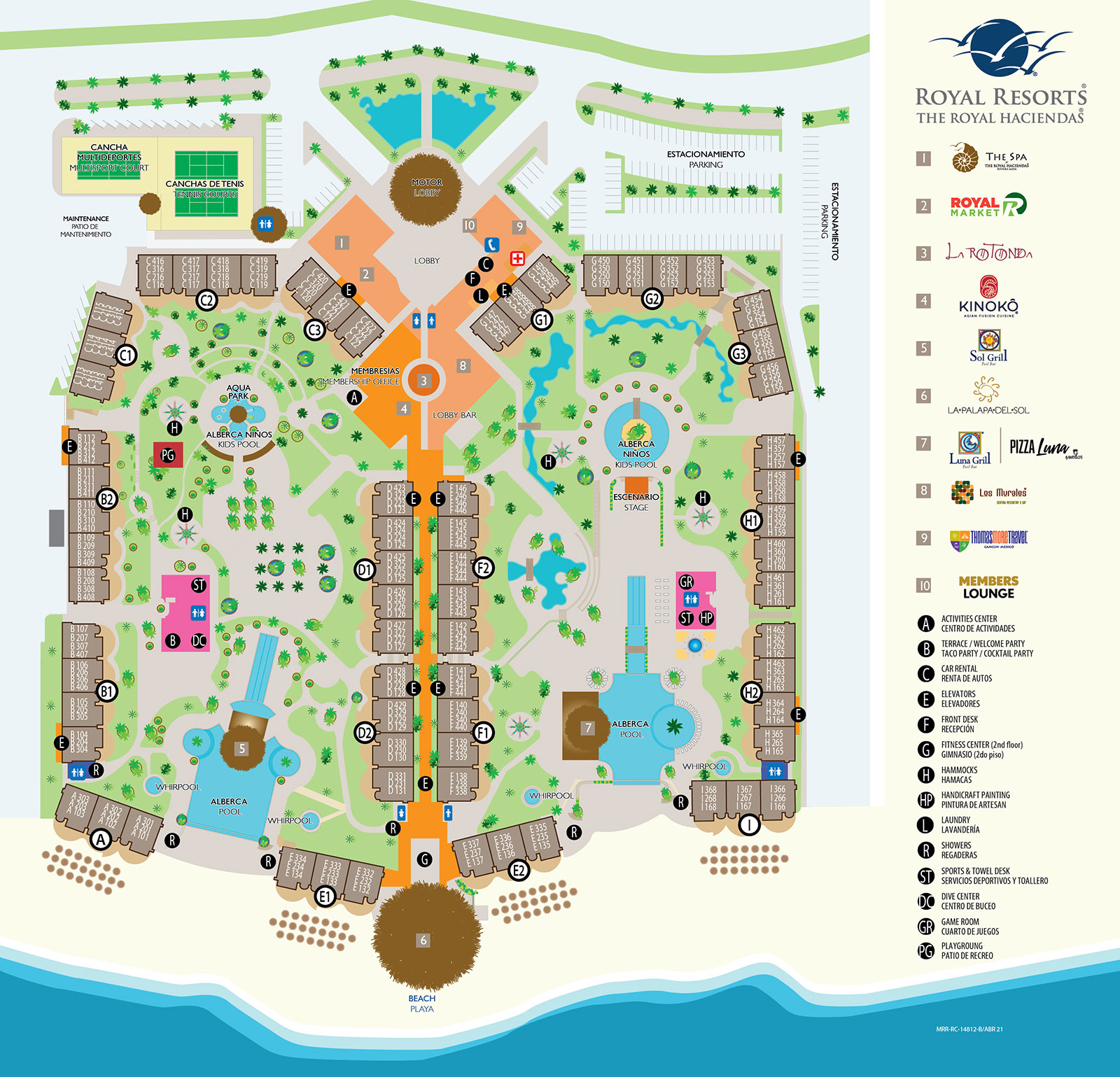 The Royal Haciendas All Inclusive Riviera Maya – Map of Mexico Holiday Resorts