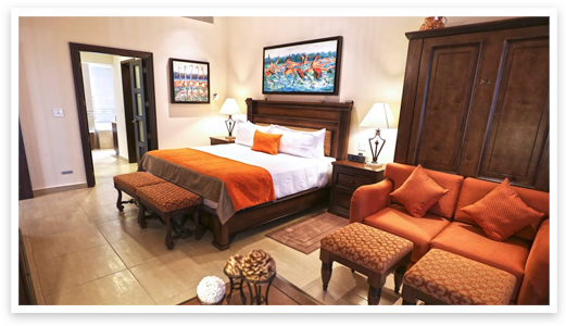Three-bedroom, ocean view Master Suite at Grand Residences