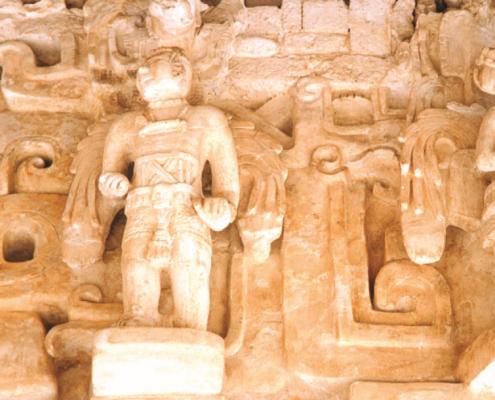 Ek Balaam Maya Ruins in Yucatan, Mexico