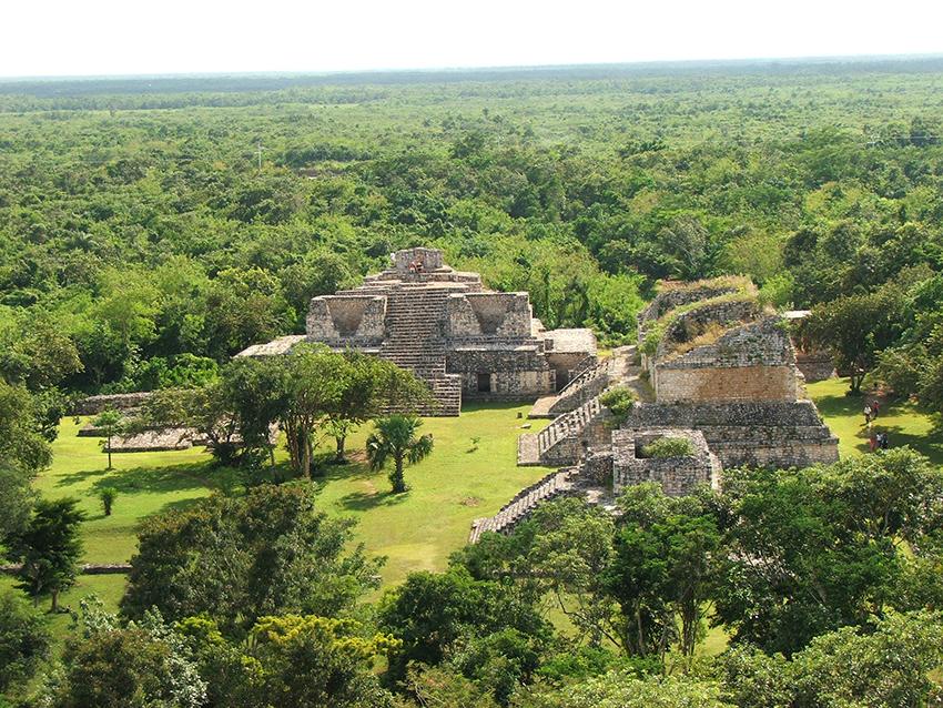 Ek Balam Maya Ruins in Yucatan