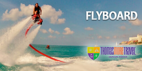 The most exciting Water Activities in Cancun - Flyboard