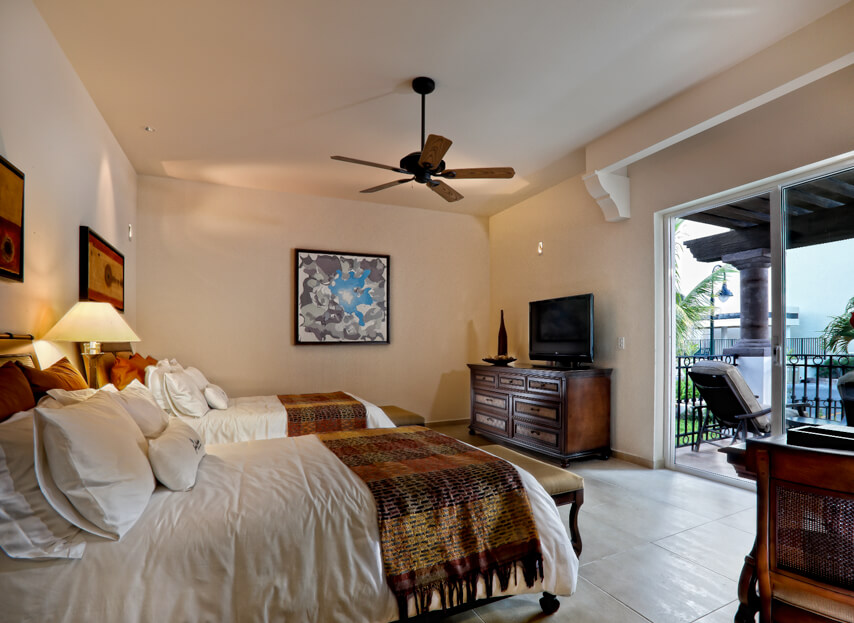 Spacious and luxurious Suites and Residences with every creature comfort