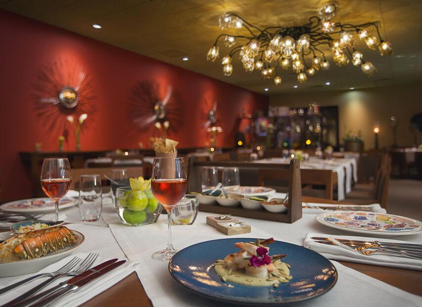 Dine on traditional Mexican food at Flor de Canela Restaurant