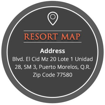 Grand Residences Riviera Cancun location and address