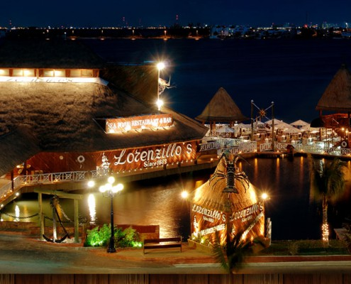 Lorenzillo's Lobster House and Seafood Restaurant in Cancun