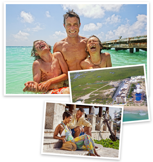Grand Residences Riviera Cancun is located on a spectacular beach south of Puerto Morelos