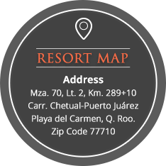 The Royal Haciendas resort map and aadress