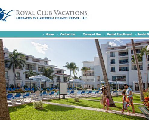 Royal Resorts Rental Program managed by Royal Club Vacations