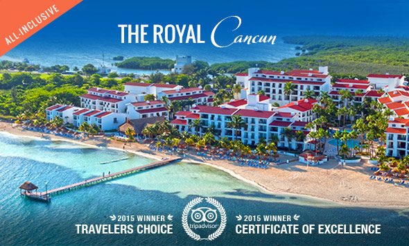 The Royal Caribbean All Suite Family Resort in Cancun – Map of Mexico Holiday Resorts
