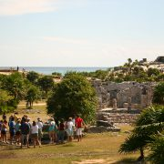 Tulum, archaeological site in Quintana Roo