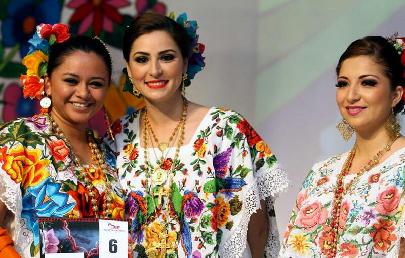 Traditional attire of Yucatan