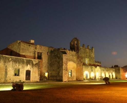 San Bernardino de Sisal Convent Valladolid Yucatan, Mexico