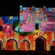 Light & Sound events in San Bernardino de Sisal Convent, Valladolid, Yucatan