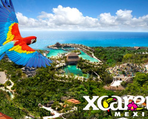 Tour to Xcaret park Mexico