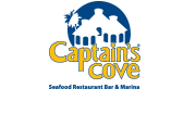 Capitains Cove seafood restaurant, bar & marina