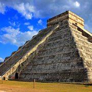 Equinox at Chichen Itza, one of the new 7 wonders of the world