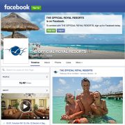 The official Royal Resorts is on Facebook