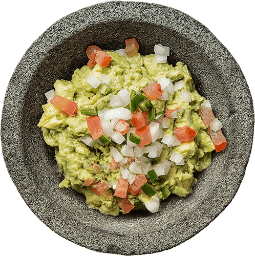 Haciendas Sisal Traditional fresh guacamole