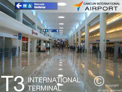 Cancun International airport, T3 International terminal