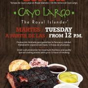 Cayo Largo BBQ lunch at The Royal Islander