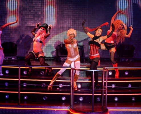 Coco Bongo, Moulin Rouge show