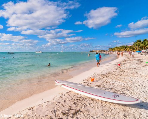 Playa Norte on Isla Mujeres, USA Today 10Best Top 10 Mexican Beaches