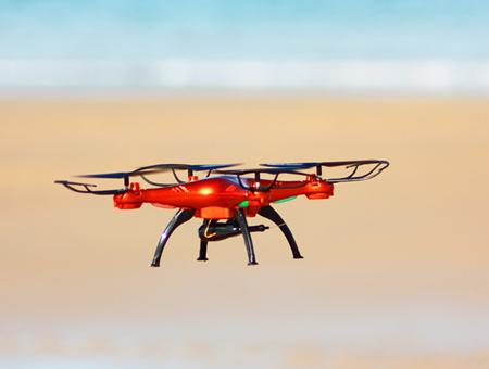 Using a Drone at Royal Resorts