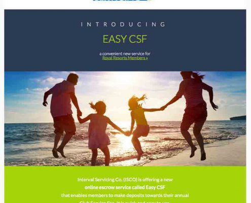 Plan payments during the year with the new Easy CSF service