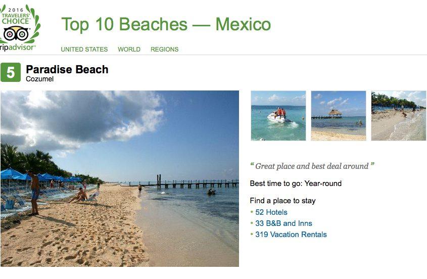 No. 5 Playa Paraíso, Cozumel