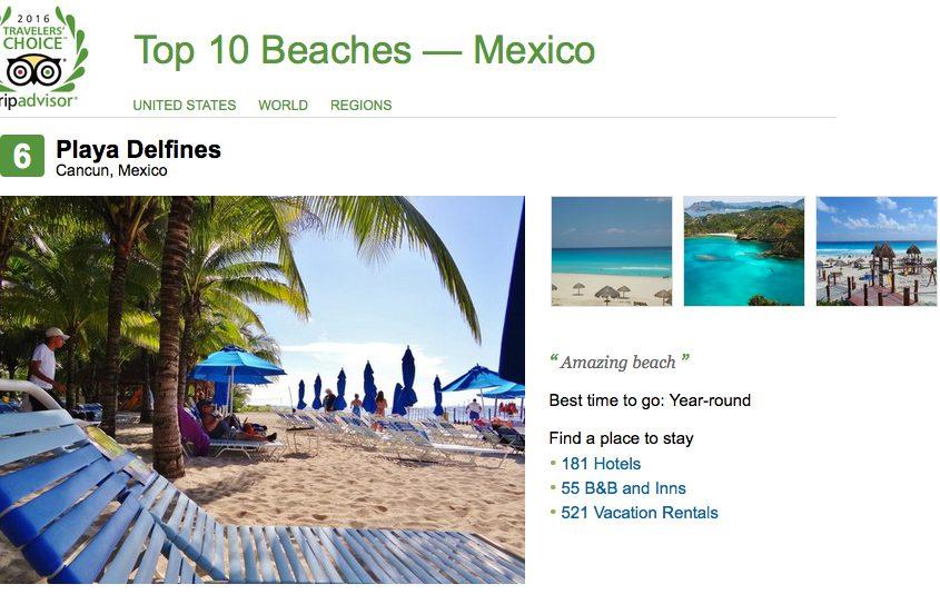 No. 6, Playa Delfines, Cancun
