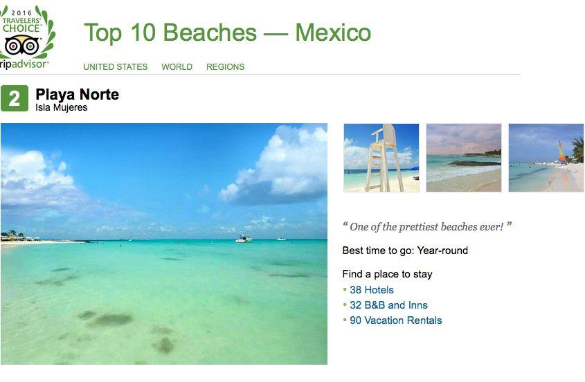 No. 2 Playa Norte, Isla Mujeres