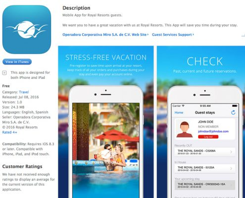 Royal Resorts App