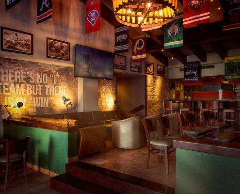 sport bar in cancun