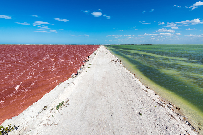 Las Coloradas near Rio Lagartos