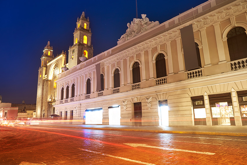 All roads lead to Merida, Yucatan's historic cultural