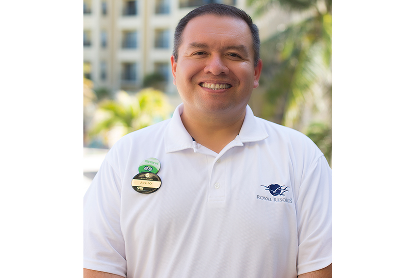 Meet the Royal Resorts Team: Julio Ibarra - Royal Resorts