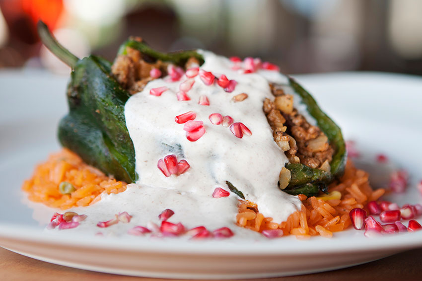 Festive Dishes At Hacienda Sisal Mexican Restaurant In