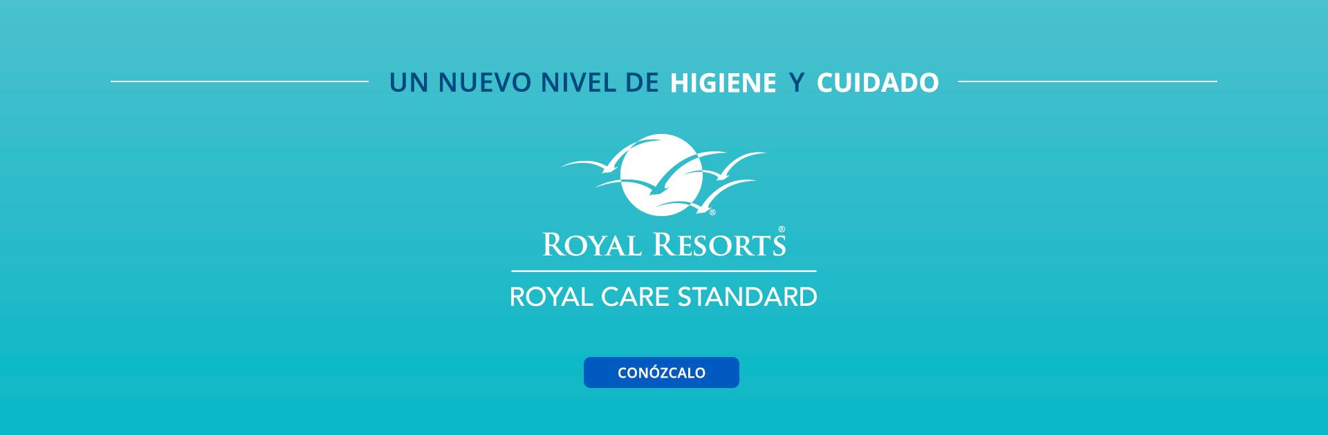 Un nuevo nivel de higiene y cuidado Royal Care Standard