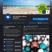 Facebook Royal Resorts